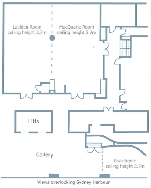 Pullman Quay Grand Suites Sydney Conference Floor Plans